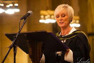 Jackie Griffiths, Hipperholme Grammar School headteacher. Picture from Leuly Photography