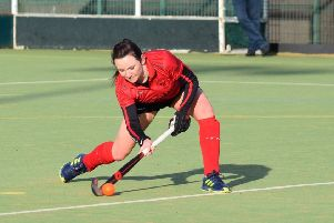 Pendle Forest's joint leading scorer Lisa Crewe