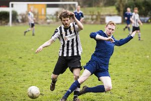 Sam Hiley for Sowerby Bridge and James Redmond for Calder '76 on Saturday