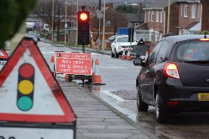 What roadworks are taking place in Calderdale?