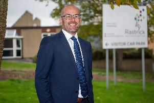 Steve Evans, headteacher at Rastrick High School