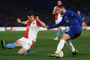 Eden Hazard is a big target of Real Madrid. (Photo by Mike Hewitt/Getty Images)
