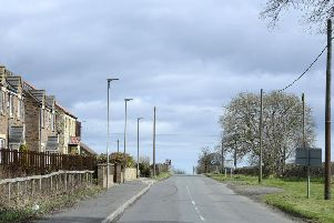 New streetlights in Christon Bank. Picture by Jane Coltman
