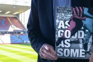Barry Kilby released his 'As Good As Some' book in paperback last year to raise extra funds for the appeal