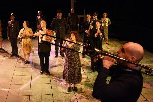 This was a gloriously entertaining production of Shakespeare's Much Ado About Nothing,