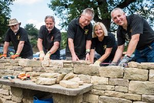 Learn how to build a drystone wall at Chatsworth from May 25 to 27. Photo by shoot-lifestyle.co.uk for Chatsworth House Trust.