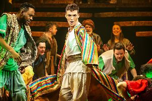 Tim Rice and Andrew Lloyd Webbers Joseph and the Amazing Technicolor Dreamcoat at Leeds Grand Theatre