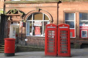 The post office in Wigan town centre which has now closed