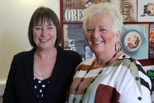 Liz Cresswell and Sue MacRae