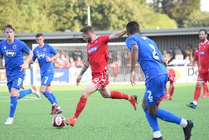 Scarborough Athletic 1-2 Grimsby Town / Pictures by Morgan Exley