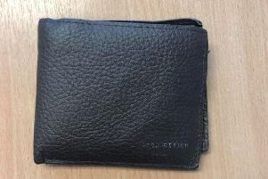 Police said the wallet was found on a bus in Chorley.