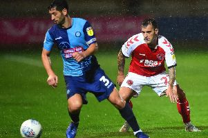 Substitute Ross Wallace played most of the game against Wycombe