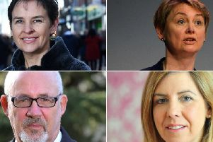 Mary Creagh, Yvette Cooper, Jon Trickett and Andrea Jenkyns have had their say.