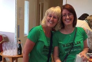 Lynda Pearce and Kelly Booth