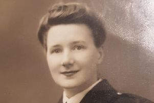 Marion in her younger days