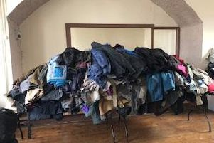 Some of the coats donated last year