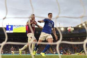 VAR denies Burnley an equaliser against Leicester City at the King Power Stadium
