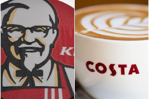 KFC and Costa Coffee have been given planning permission to open for business in Hemsworth. Picture from Getty Images.