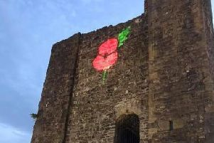 Clitheroe Castle Poppy