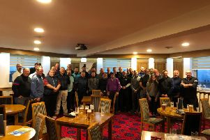 The golf day
