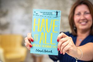 Deborah Bulcock with her best-selling book