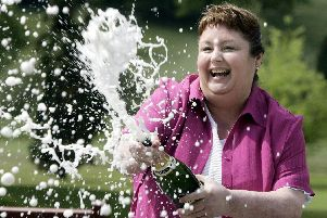 Debbie Mather, from Chorley, scooped 5.1m in May 2005