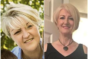Dawn Sleet (right) is fund-raising to pay for for treatment needed by daughter Carol (left)