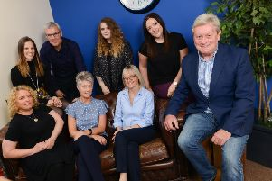 The Viva PR team. Pic: Andy Ford