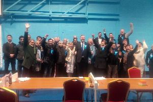 The victorious Tories