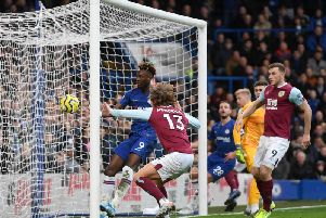 Jeff Hendrick's header was ruled out against Chelsea at Stamford Bridge