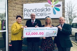 Presentation by the Burnley and Pendle Freemasons