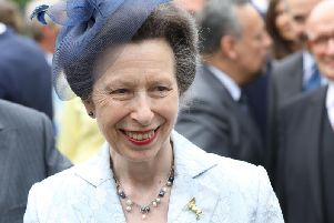 British Princess Anne arrives in Hamburg, northern Germany on June 15, 2017 to attend a party marking the 91st Birthday of the Queen.' / AFP PHOTO / POOL / Georg Wendt        (Photo credit should read GEORG WENDT/AFP via Getty Images)