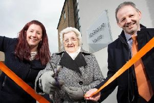 Wyn opening McGeorge House in 2016
