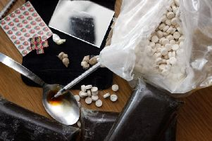 Lancashire Constabulary recorded 945 drug seizures in 2018-19