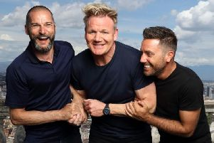 Fred Sirieix, Gordon Ramsay and Gino DAcampo were in ITV's latest celebrity travelogue series, Gordon, Fred and Gino's Road Trip