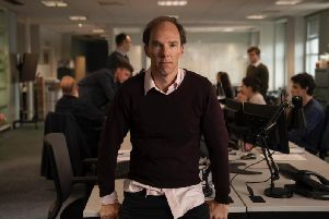 Benedict Cumberbatch as the brains of the Leave side, Dominic Cummings