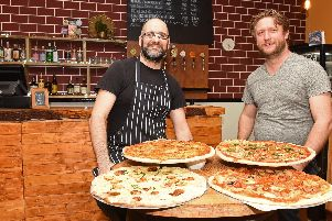 Simon Naylor, head chef and Ed Entwistle, partner, of Pour, London Road.