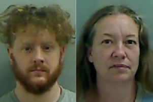 Torbjorn Kettlewell, left, was convicted of murdering Hartlepool mum Kelly Franklin and his former lover Julie Wass was found guilty of manslaughter.