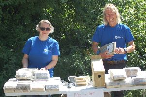 Canal and River Trust volunteers and members of the Pocklington Canal Amenity Society will be on hand to help visitors build bird boxes at Melbourne Arm.