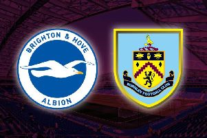 Brighton and Hove Albion v Burnley
