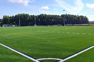 The new 3G pitch will be installed at Prairie Sports Village