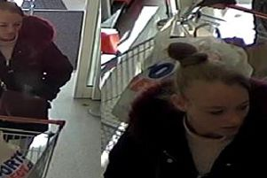 Police would like to speak with this woman in connection to the incident in Sainsbury's