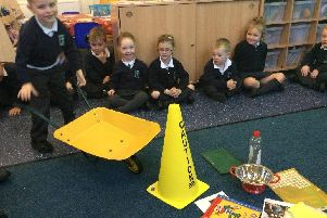 Pupils learning about the world of work