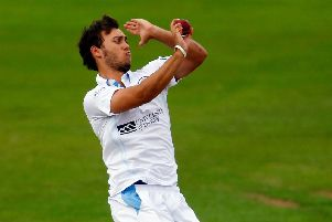 Derbyshire all-rounder Alex Hughes (PHOTO BY: Paul Thomas/Getty Images)