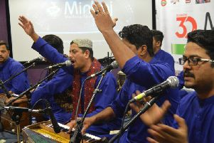 Ghayoor Moiz Mustafa Qawwal and Brothers, from Karachi, Pakistan, gave a magical Qawwali performance at charity dinner in Nelson. (s)