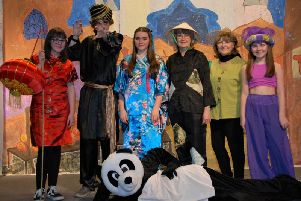 Ribble Valley audiences are being treated to a magical show full of slapstick comedy. (s)