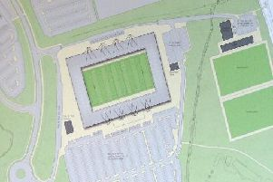 Planning permission for a new stadium was given in 2012.