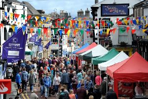Clitheroe Food Festival attracts thousands of visitors each year.