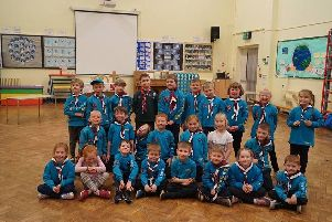 These youngsters fromSt Stephen's19th Burnley Beaver Scouts in Burnley are ready to save the world with some great eco friendly projects.