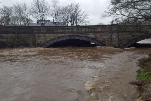 River Calder at Padiham